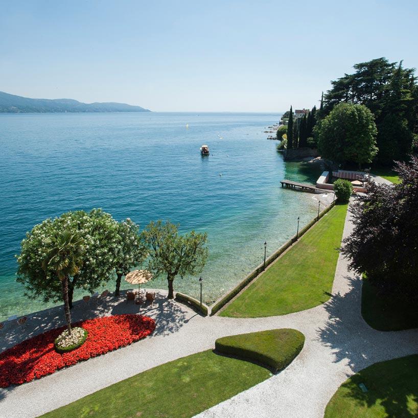 Villa Feltrinelli 5 Star Hotels Lake Garda Luxury Hotel