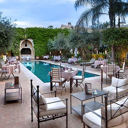 La villa des orangers luxury hotels marrakech luxury for La villa des orangers