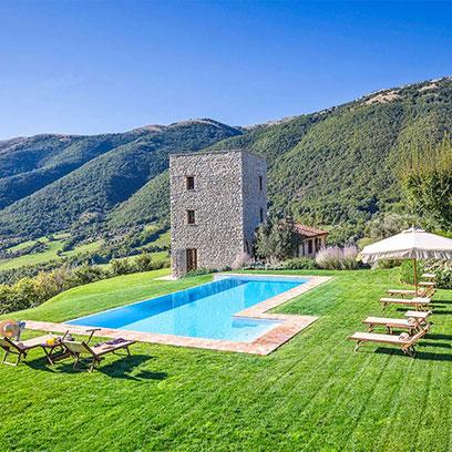 Luxury villas umbria 5 star villas umbria near orvieto for 5 star villas